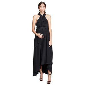 HATCH Black Fete Gown Maxi Dress. One Size